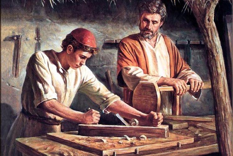 carpenter jesus building industry