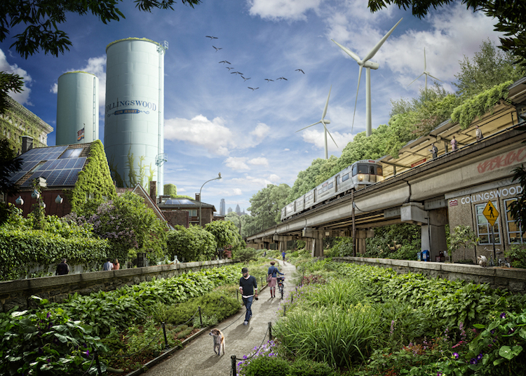 Green City illustration