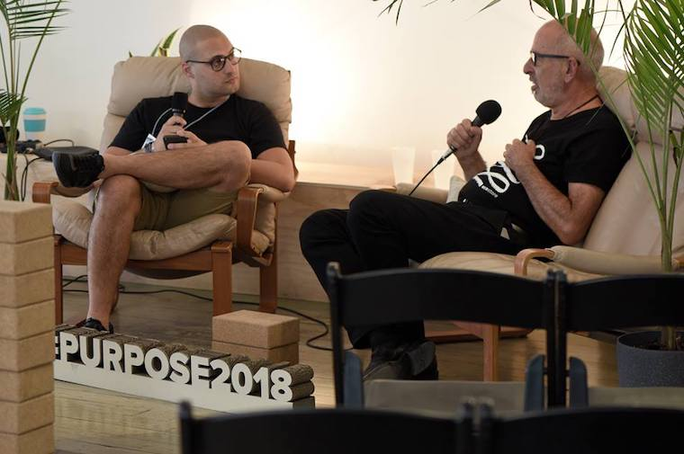 Malcolm Rands at purpose 2018