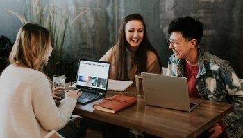 women meeting cafe jobs