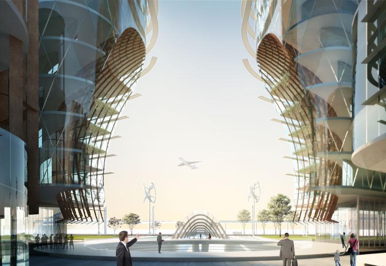 World Trade Centre Sydney illustration