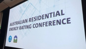 Australian Residential Energy Rating Conference