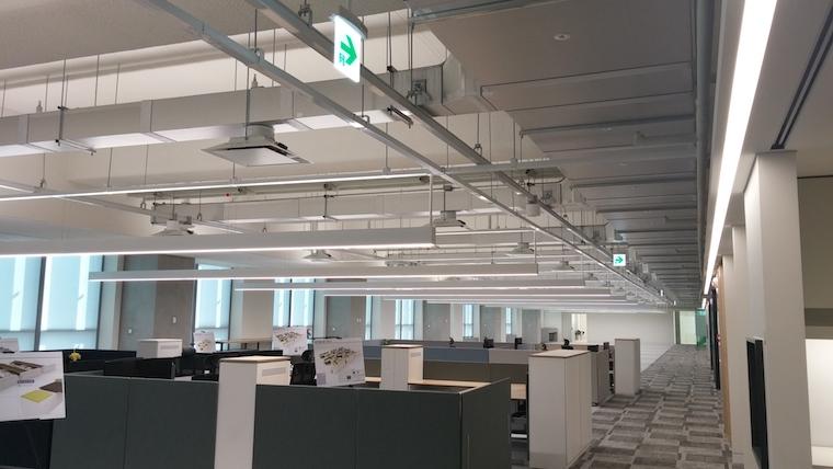 Samsung Head office with kingspan Kool duct