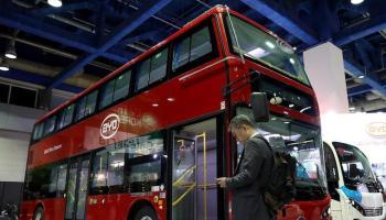 climate bus electric bus