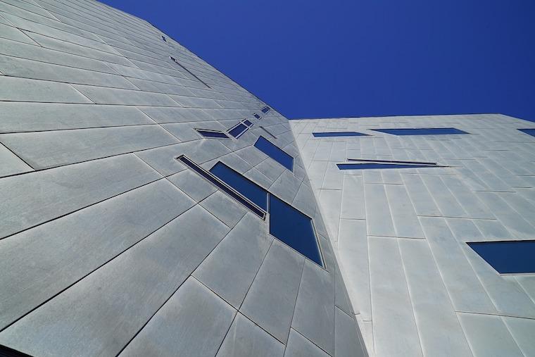 cladding aluminium building
