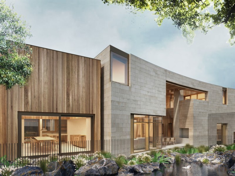 Mt Gambier limestone, John Wardell Architects