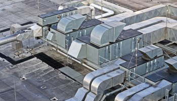 Air condition on roof AIRAH