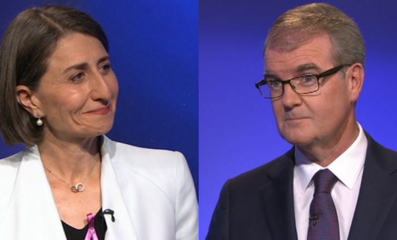 Berejiklian Daley debate