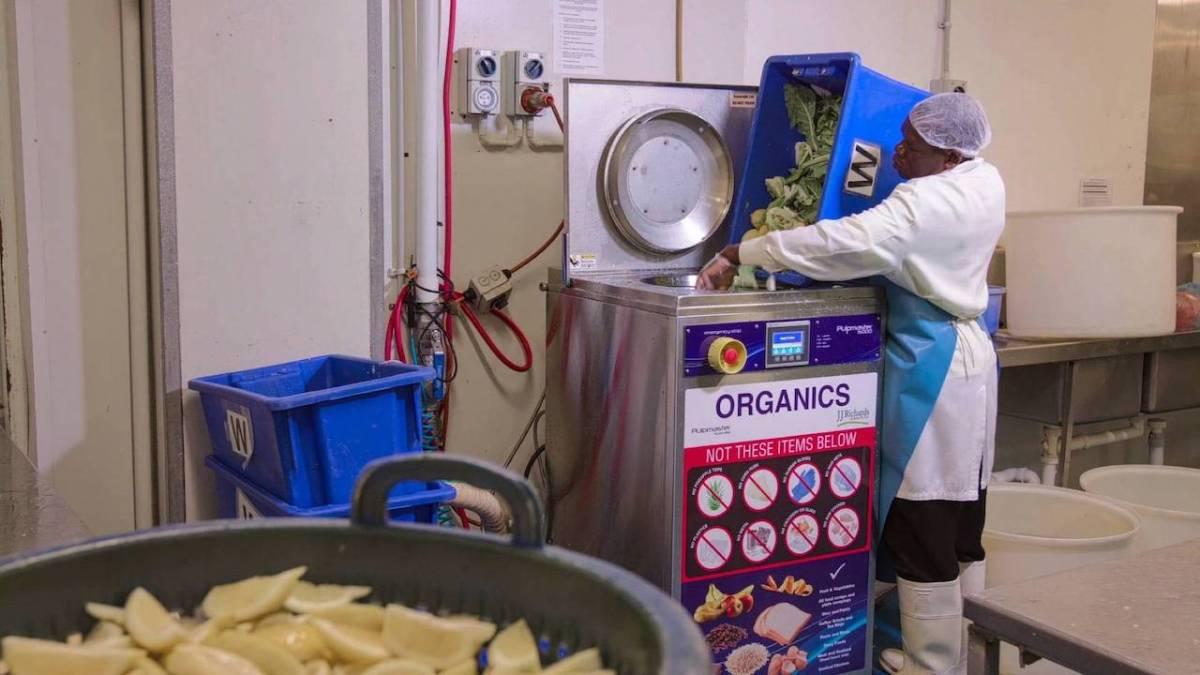 food waste pulper