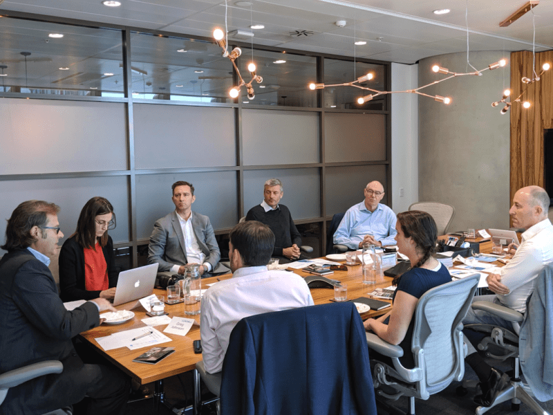 round table hosted by Cundall