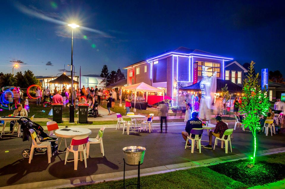 stocklands northlakes neon night