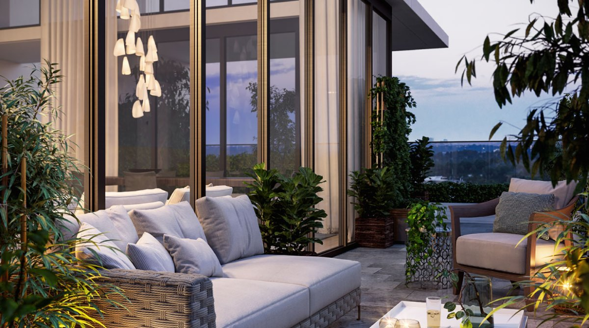 apartment outdoor patio