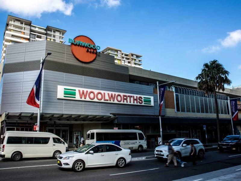Burwood Plaza shopping centre, Sydney