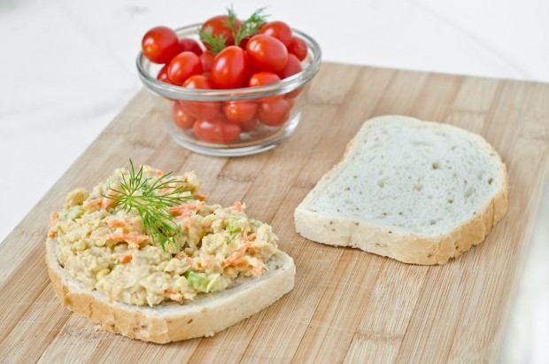 Better-than-Tuna Salad Sandwich