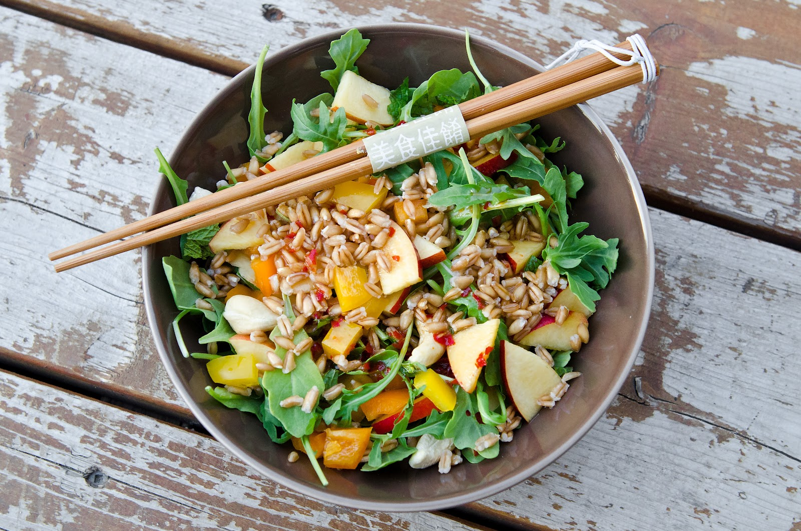 Sweet + Spicy Thai Farro Salad