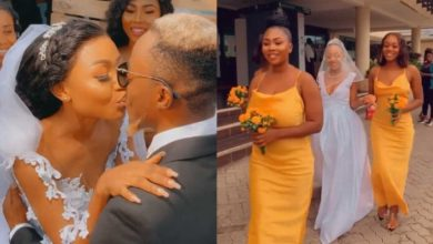 Photo of Akuapem Poloo Finally Shows Off Her Husband's Face In New Video