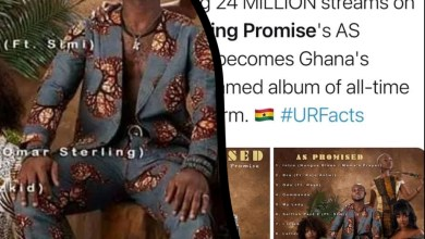 "Photo of ""As Promised"" By King Promise Becomes The Highest Streamed Album Of All Time On Spotify"