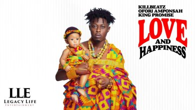 Photo of KillBeatz, Ofori Amponsah, King Promise – Love and Happiness (EP)