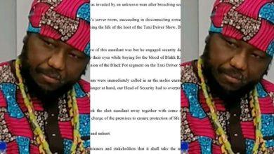 Photo of Zylofon FM Gives Details, How Unknown Assailant Invaded Its Premises & Threatened To Kill Blakk Rasta