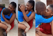 Photo of Lady Forces A Little Boy To K!ss And Fondles Her(Video)