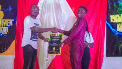 Photo of Gentle The Blogger Wins Blogger Of The Year At The 2021 Top Entertainment Awards Ghana