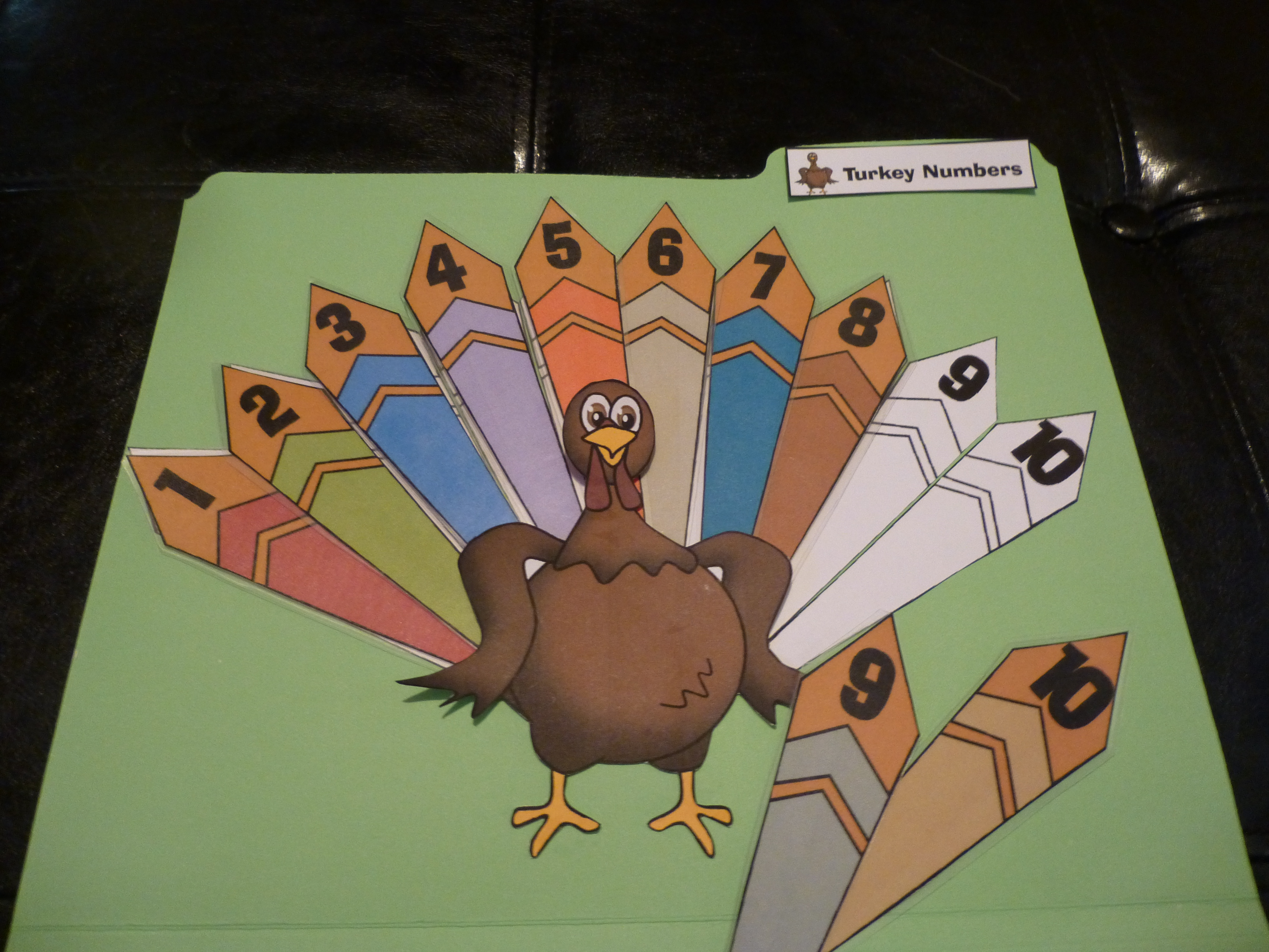 Thanksgiving File Folder Games