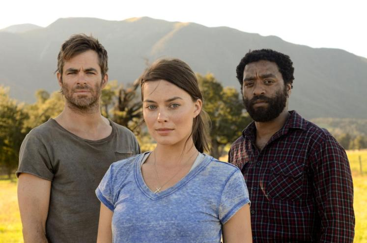 Chris Pine, Margot Robbie and Chiwetel Ejiofor in Z for Zachariah