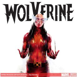 All-New Wolverine #1 variant cover by Keron Grant