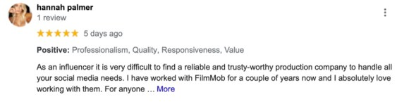 Los Angeles Video media company review