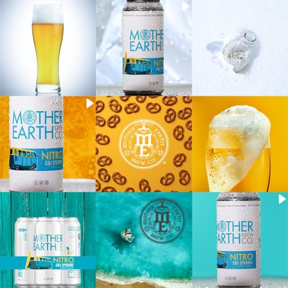 Social Media Page Design for Mother Earth Brewing