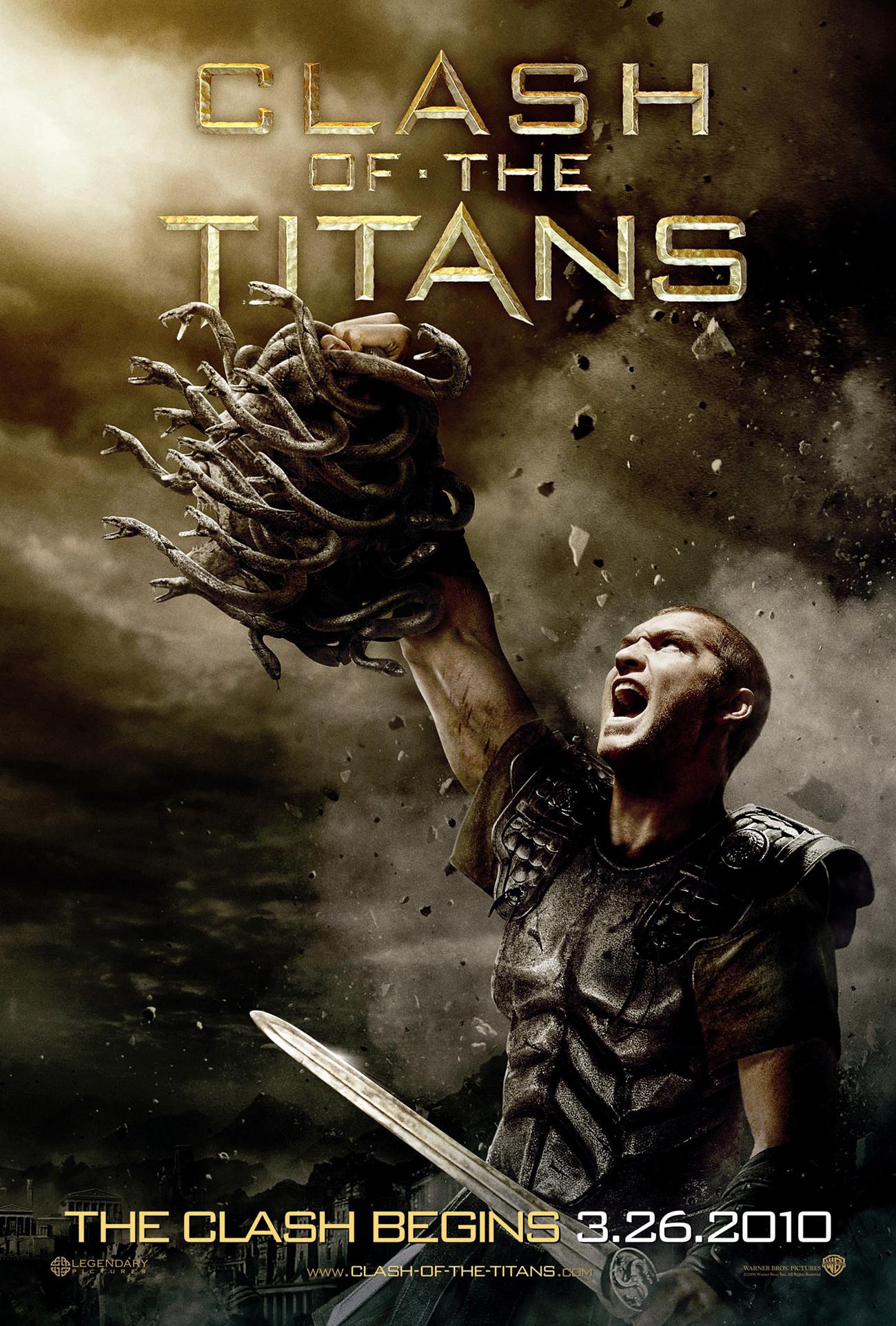 корица на clash of titans