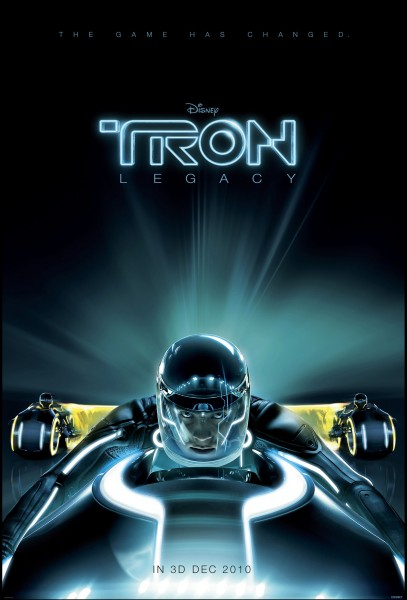 new official movie poster for tron
