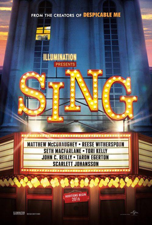 Sing Movie Sing01 Giant Wall Poster Art Set