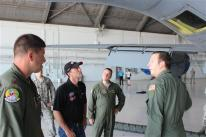 Harvick at MacDill 3