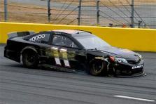 2012 CMS Testing Denny Hamlin Incident