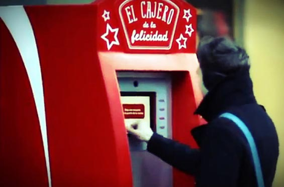 Atm Hands Out Wads Of Cash To Nice People