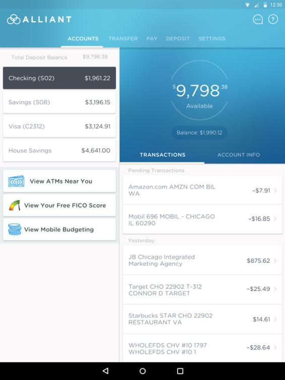 Bank America Online Banking Account
