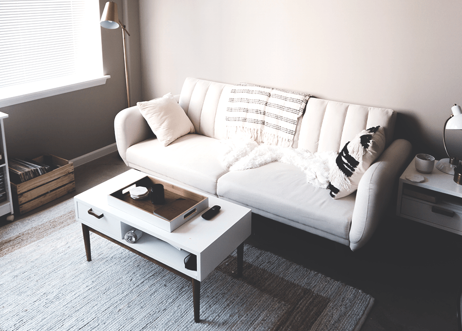 furnished my first apartment for less