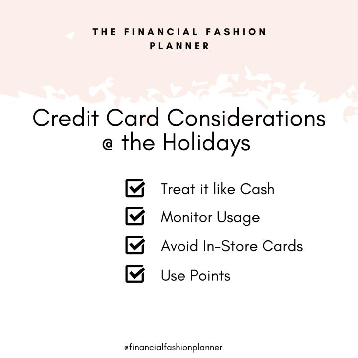 Credit Cards & Holiday Shopping
