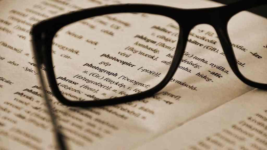 dictionary lingo