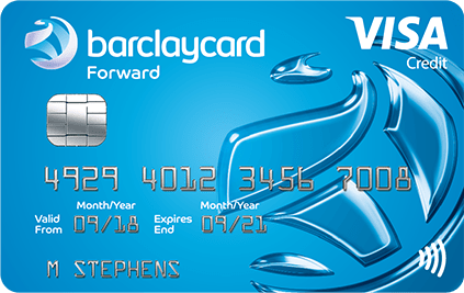 A picture of the Barclayscard Forward