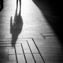 Single shadow | Liverpool Photo Walk 2015
