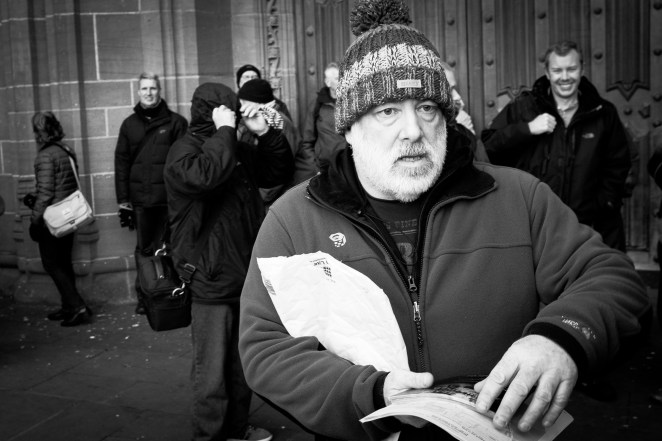 Matt Hart and his har | Liverpool Photo Walk 2015