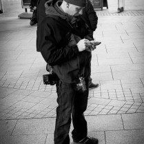 Checking in | Liverpool Photo Walk 2015