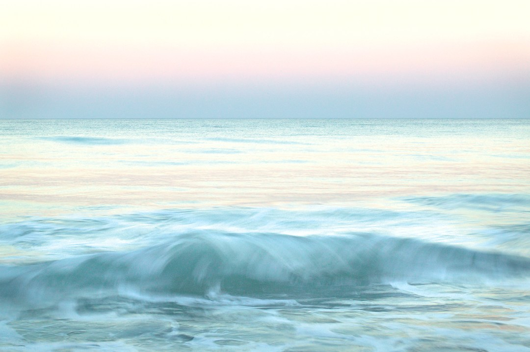 Breaking Wave at Twilight