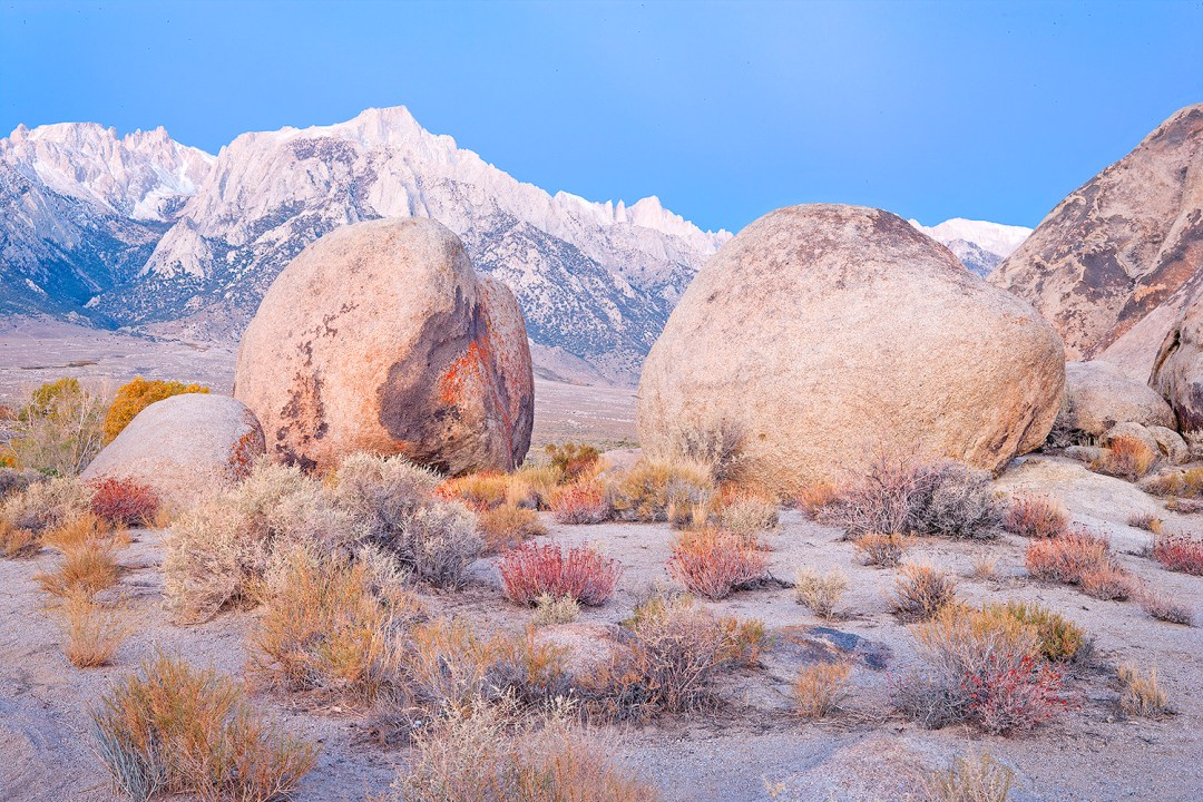 Early Light On The Alabama Hills