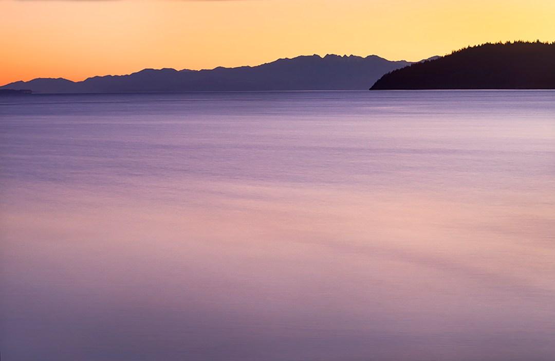 San Juan Islands Pastel #4