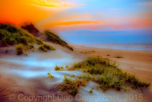Outer Banks Soft Dune Sunrise