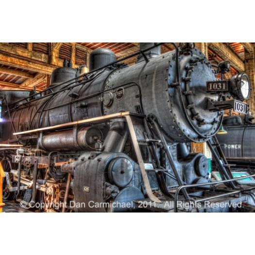 Trains - Steam Locomotive 1031 side
