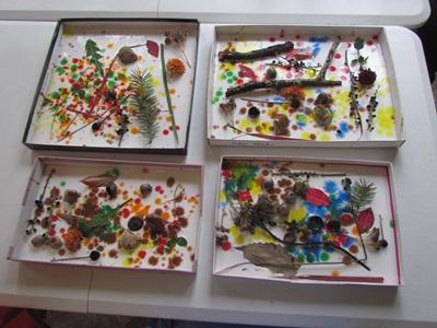 Nature Shadow Boxes by Teach Preschool
